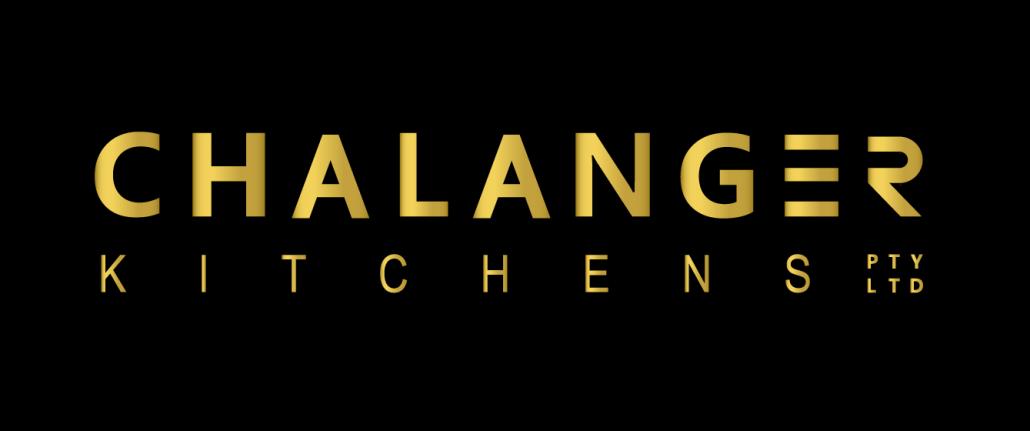 Chalanger Kitchens Logo - Black Background