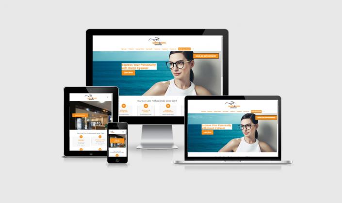 Website Design: Sparks & Feros Optometrists