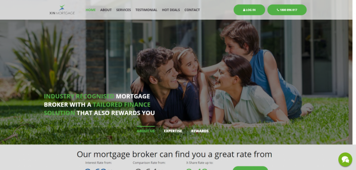 Copywriting: Xin Mortgage