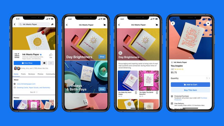Ink Meets Paper Facebook Shop